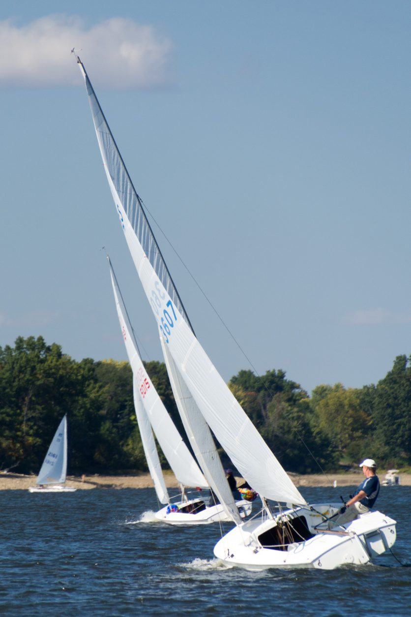 Flying Scots racing at HSC